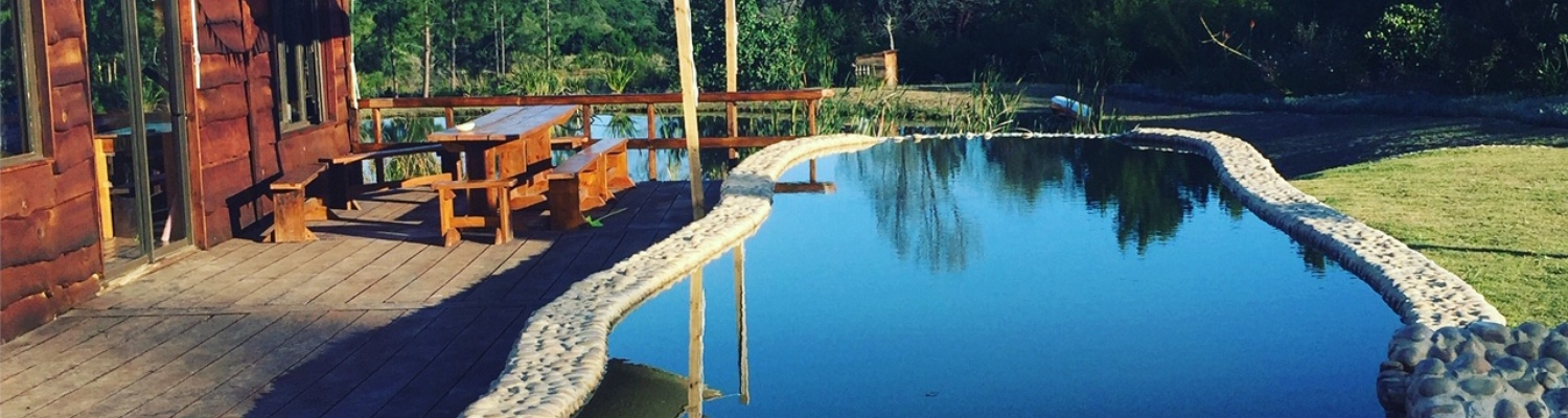 natural swimming pool for yoga retreat near Plettenberg Bay